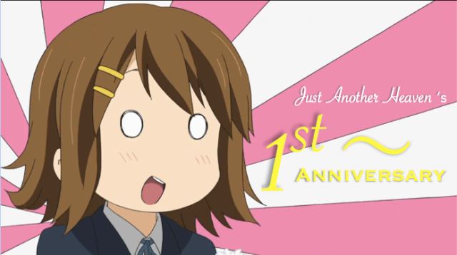 Even Yui-chan's celebrating.